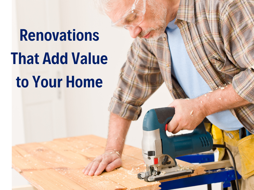 Home Renovations that Add Value